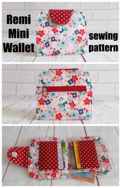 Remy Mini Wallet pattern