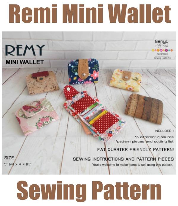 Remi Mini Wallet pattern