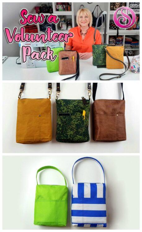 Sew A Volunteer Pack FREE pattern & video tutorial