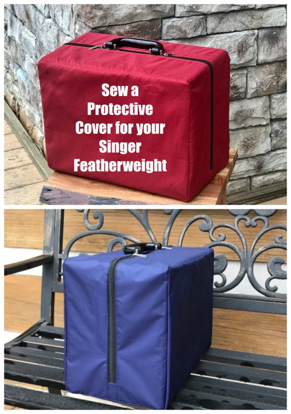Sew a Protective Cover for your Singer Featherweight