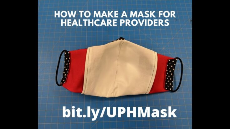Instructional video for sewing the Olson mask (COVID-19)