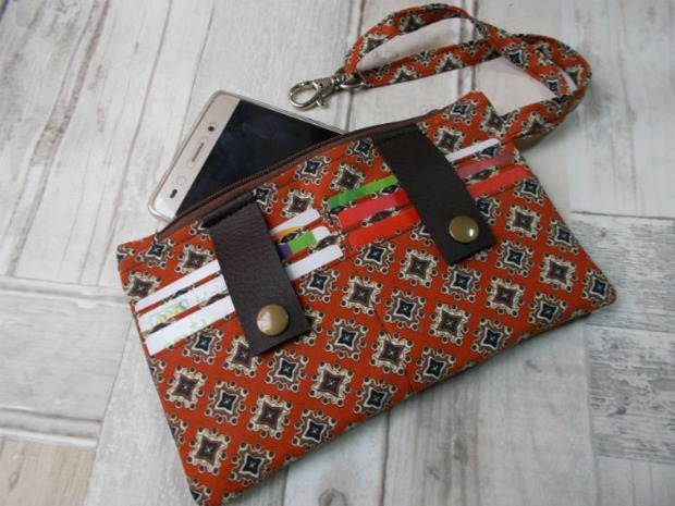 Dela Wallet FREE sewing pattern