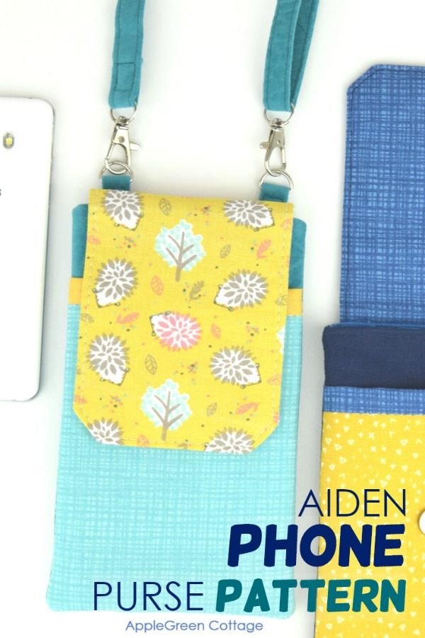 Aiden Cell Phone Purse pattern
