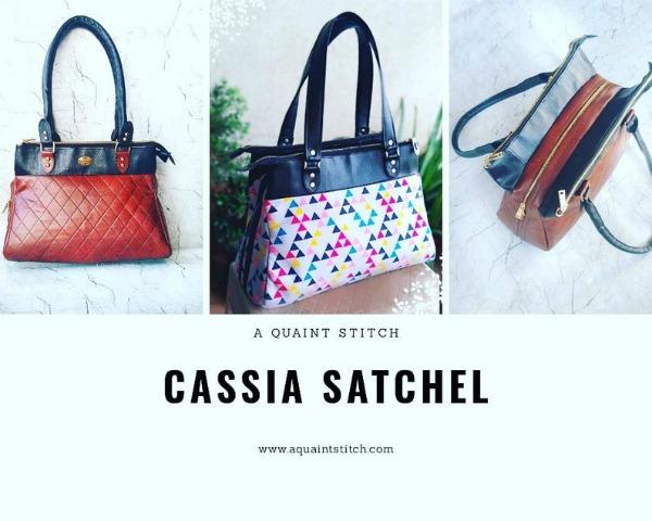Cassia Satchel pattern