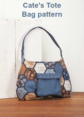 Sewing pattern for the Cate's Tote Bag