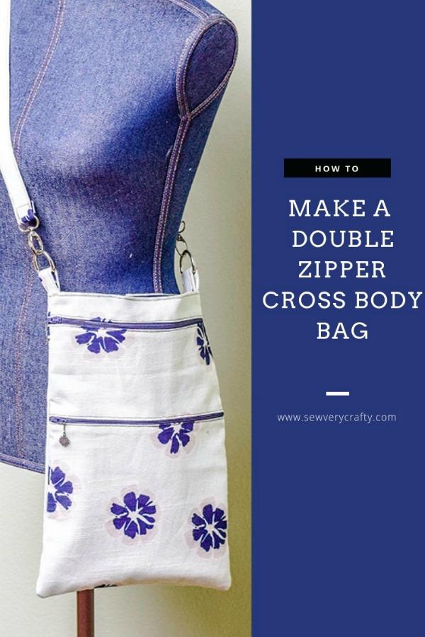 Double Zipper Crossbody Bag pattern