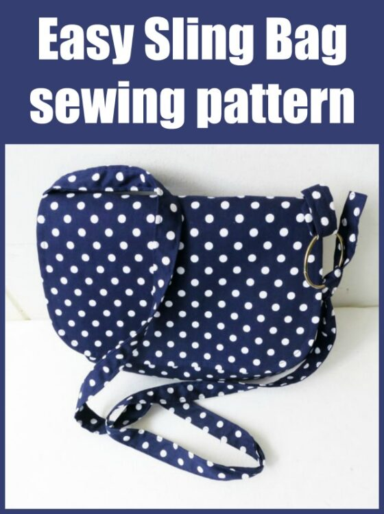 Easy Sling Bag pattern