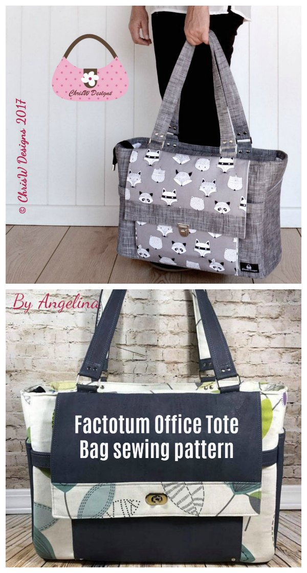 Here's the Factotum Office Tote Bag which is a fabulous looking Tote Bag. It's a great size and is crammed full of pockets for storage and organisation. It definitely looks good and the feedback is that it works very well.