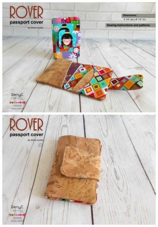 Rover Passport Cover pattern