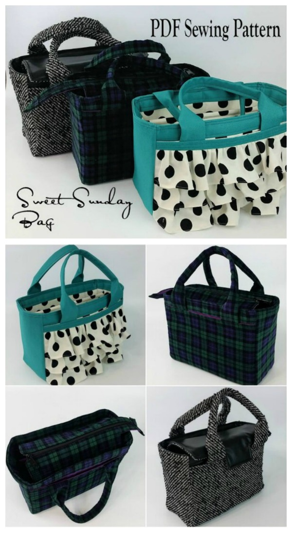 Sweet Sunday Bag Pattern
