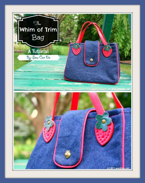 The Whim Of Trim Handbag free pattern