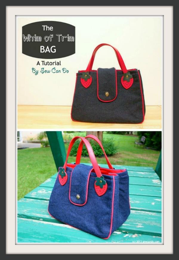 The Whim Of Trim Handbag free pattern 2