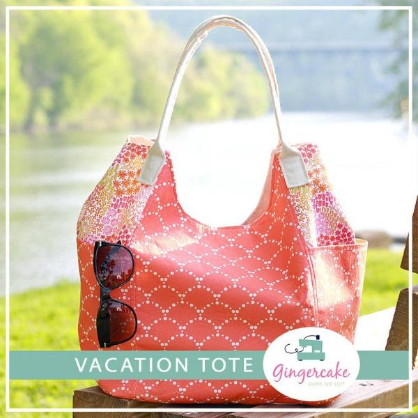 Vacation Tote Bag pattern