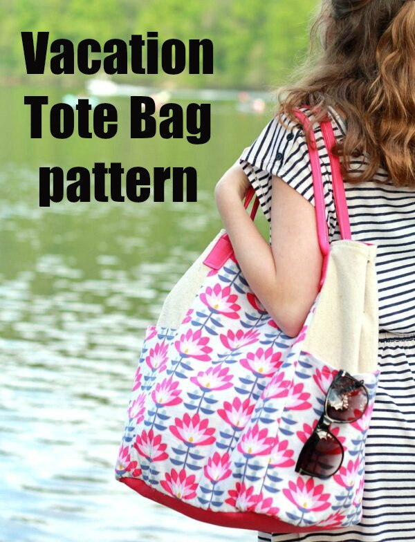 Vacation Tote Bag pattern