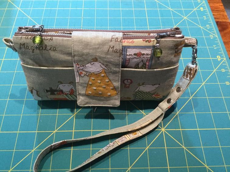 Emzed Foldover Clutch Wallet FREE sewing pattern