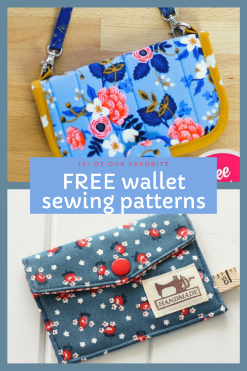 FREE wallet sewing patterns. Easy sewing patterns for full wallets, coin purses and card pouches to sew. Beginner wallet sewing patterns all with free sewing patterns. DIY wallet to sew. Easy wallet sewing pattern. Free wallet patterns.