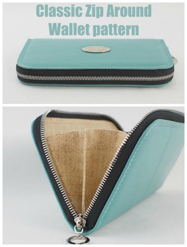 Classic Zip Around Wallet pattern