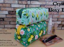 Crystal Boxy Pouch pattern