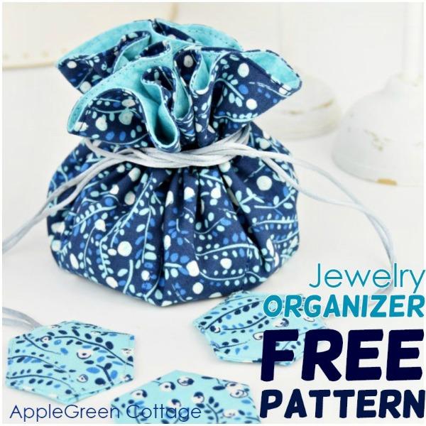 DIY Jewelry Organizer FREE pattern