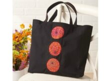 Dual Duty Peek-A-Boo Reverse Applique Tote Bag free pattern