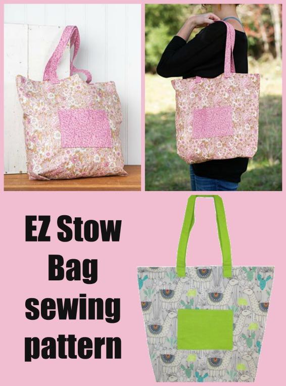 EZ Stow Bag sewing pattern