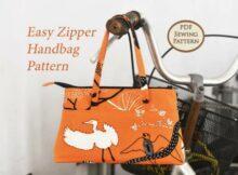 Easy Zipper Handbag pattern.