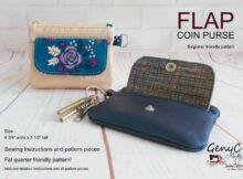 Flap Coin Purse pattern