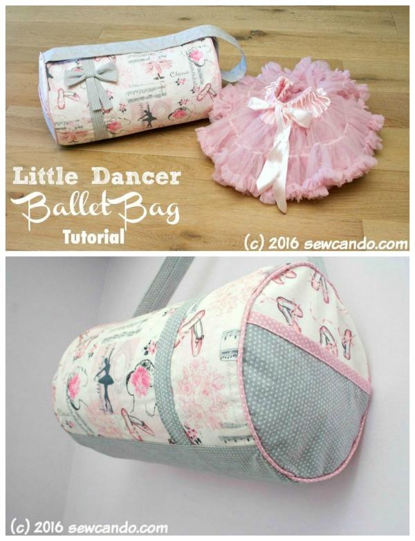 Little Dancer Ballet Bag free pattern