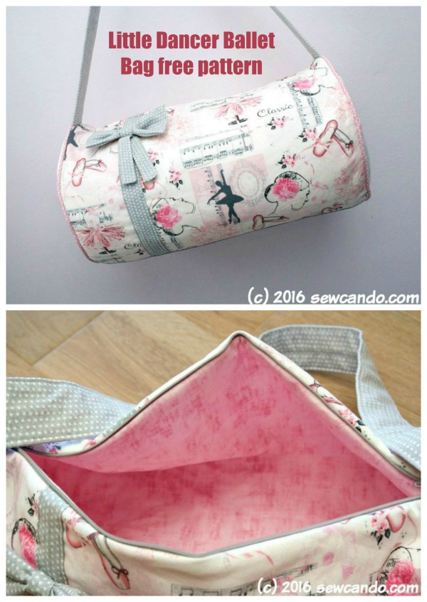 Little Dancer Ballet Bag free pattern