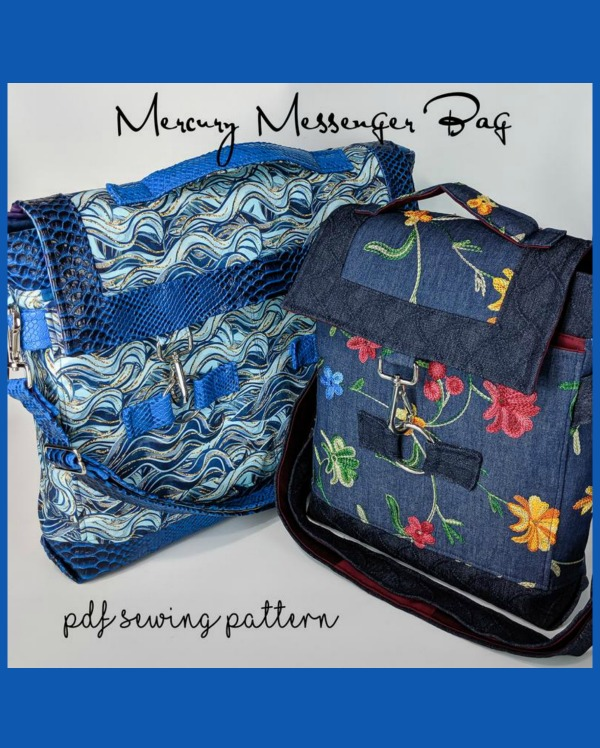 Mercury Messenger Bag pattern