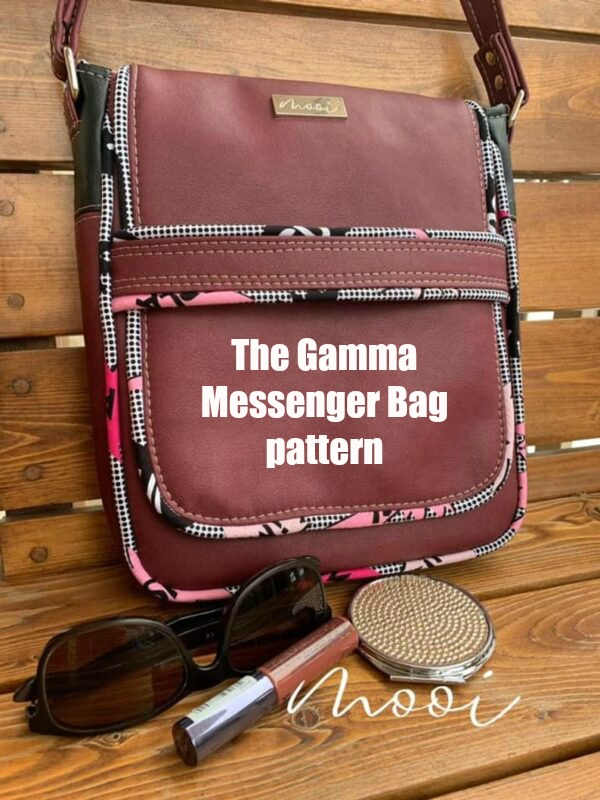 The Gamma Messenger Bag pattern