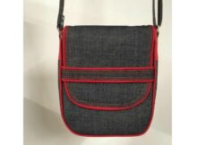 The Gamma Messenger Bag pattern