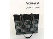 Zoe Handbag pattern featured image