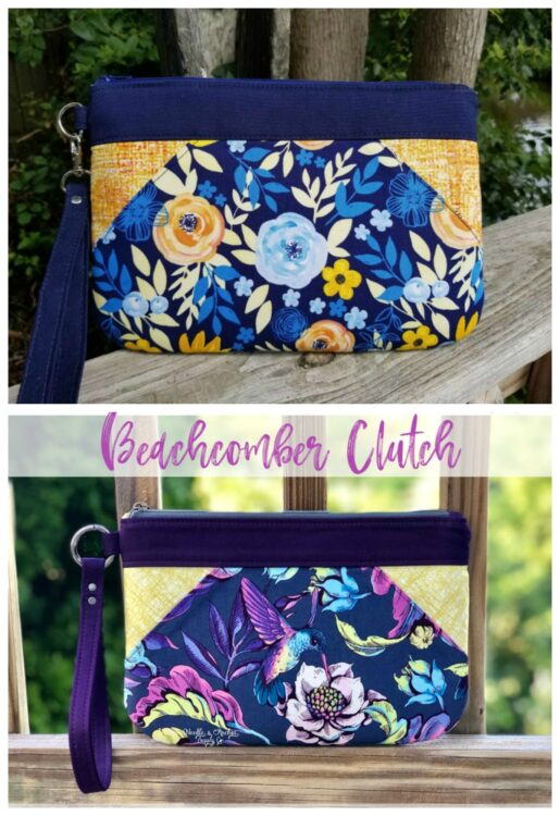 Beachcomber Clutch Bag sewing pattern
