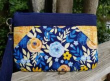 Beachcomber Clutch Bag sewing pattern featured image
