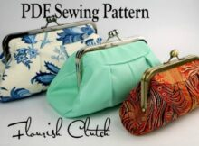 Flourish Clutch Bag pattern