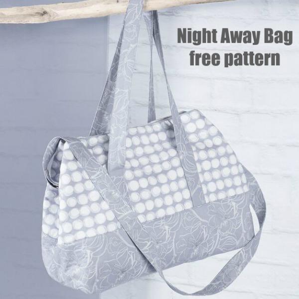 Night Away Bag free pattern