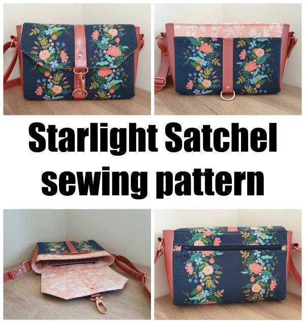 Starlight Satchel sewing pattern