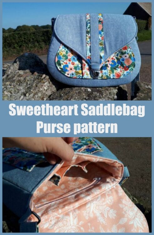 Sweetheart Saddlebag Purse pattern