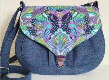 Sweetheart Saddlebag Purse pattern