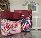 The Teloujay Crossbody Bag sewing pattern with video
