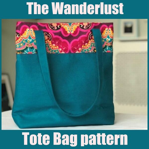The Wanderlust Tote Bag pattern