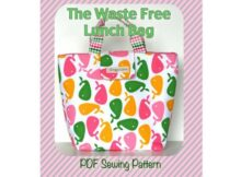 Waste Free Lunch Bag pattern