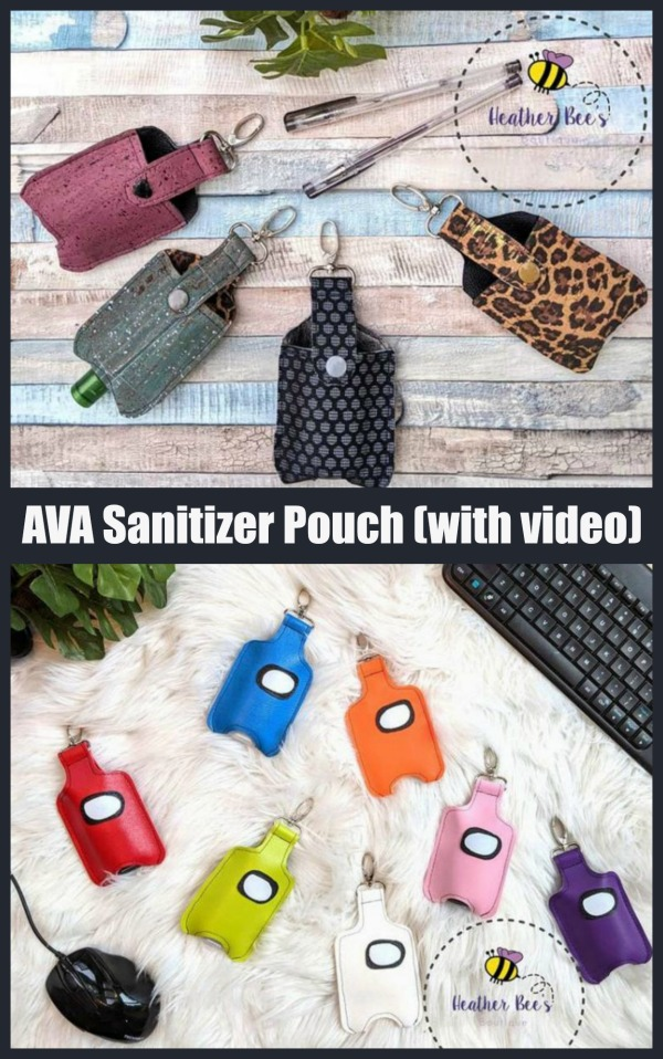 AVA Sanitizer Pouch (with video)