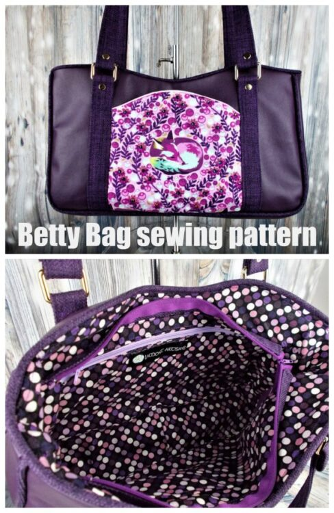 Betty Bag sewing pattern
