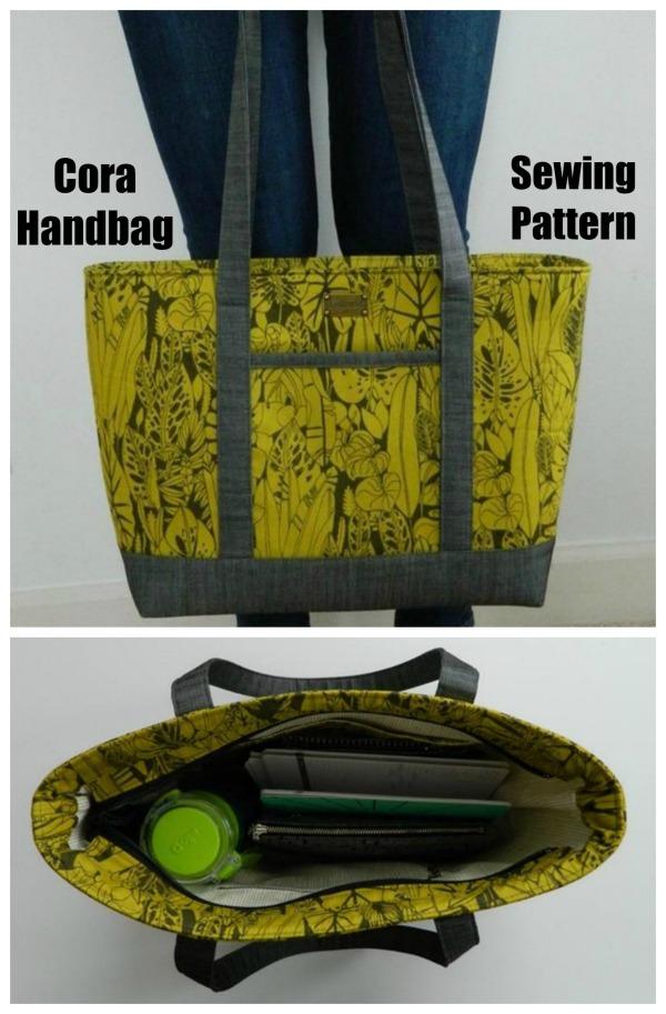 Cora Handbag sewing pattern