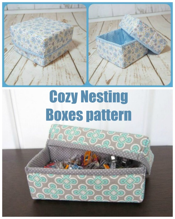 Cozy Nesting Boxes pattern