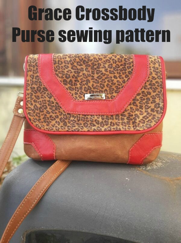 Grace Crossbody Purse sewing pattern