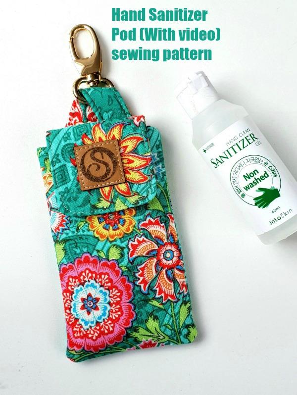 Hand sanitizer pouch