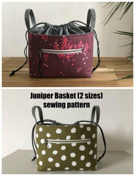 Juniper Basket (2 sizes) sewing pattern